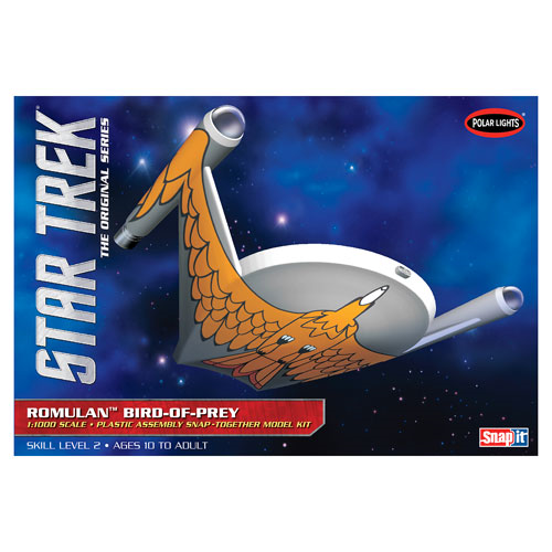 Star Trek Romulan Bird of Prey Snap-Fit Model Kit