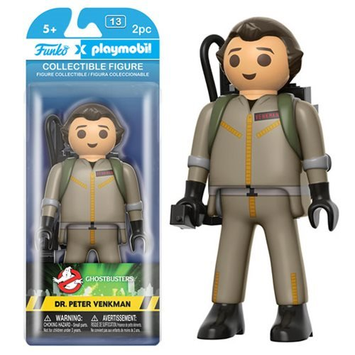 Ghostbusters Peter Venkman 6-Inch Playmobil Action Figure