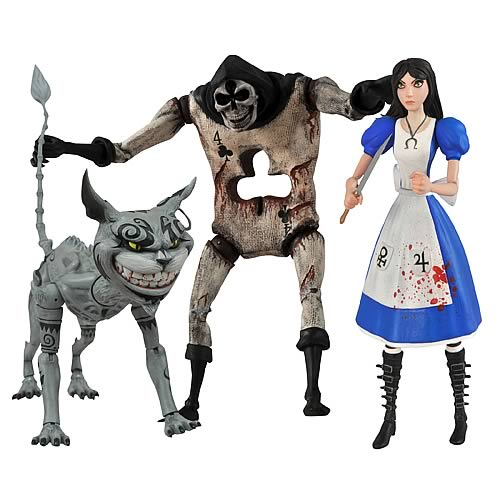 Alice Madness Returns Select Action Figure Set