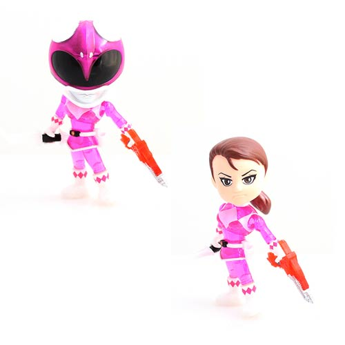 Mighty Morphin' Power Rangers Pink Ranger Crystal Edition Action Vinyl Figure - 2015 San Diego Comic-Con Exclusive