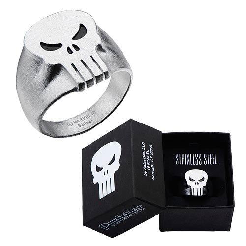 Punisher Skull Ring