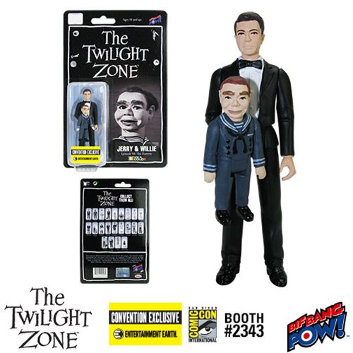 The Twilight Zone The Dummy Jerry and Willie 3 3/4-Inch Action Figure In Color Series 4 - Convention Exclusive
