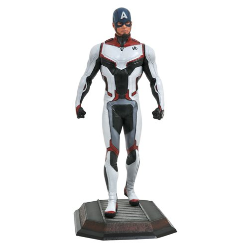 Marvel Gallery Avengers4 Team Suit Captain America Statue