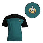 Star Trek: The Next Generation Shore Leave Collection Blue Uniform T-Shirt