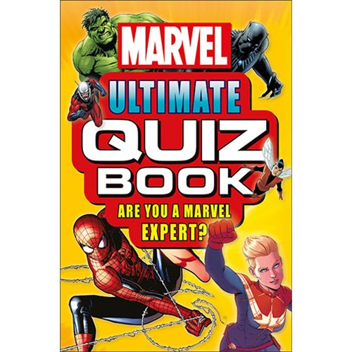 Marvel Ultimate Quiz Paperback Book