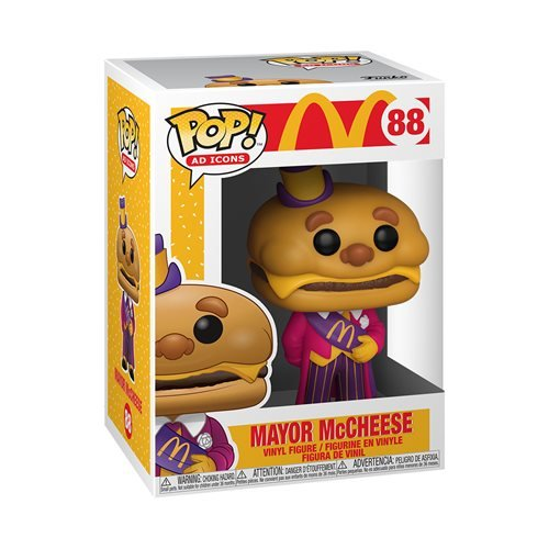 McDonald's Mayor McCheese Pop! Vinyl Figure