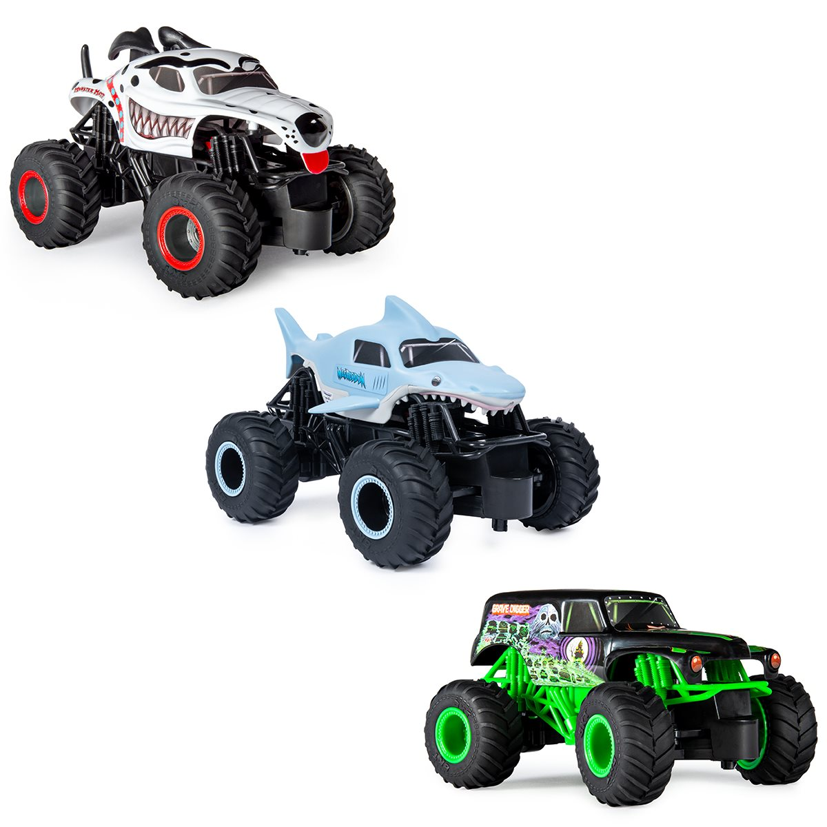 Monster Jam 1 24 Scale Monster Truck Remote Control Case