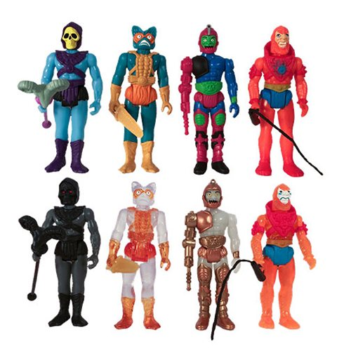 Masters of the Universe Blind Box Snake Mountain ReAction Figures Box of 12