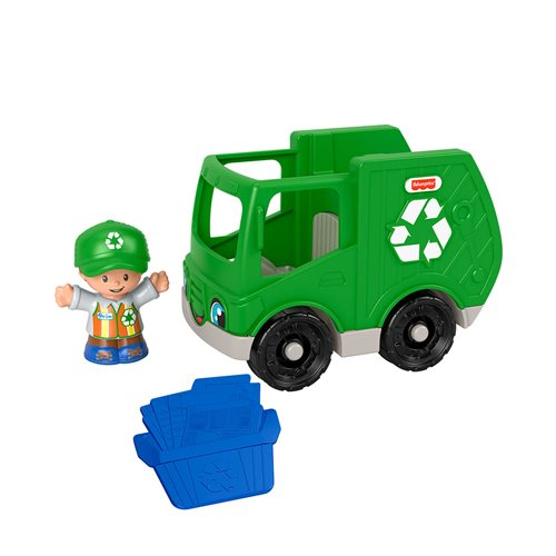 Fisher-Price Little People Recycle Truck Vehicle