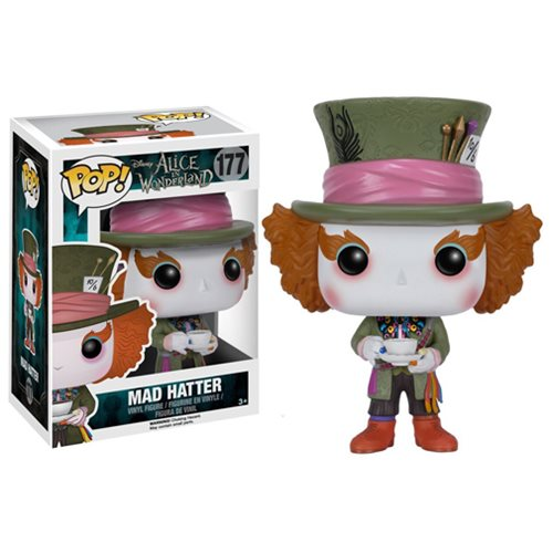 Alice in Wonderland Mad Hatter Pop! Vinyl Figure