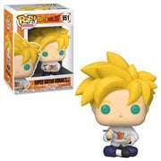 Dragon Ball Z Super Saiyan Gohan with Noodles Pop! Vinyl Figure