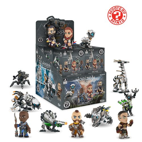 Horizon Zero Dawn Mystery Minis Display Case