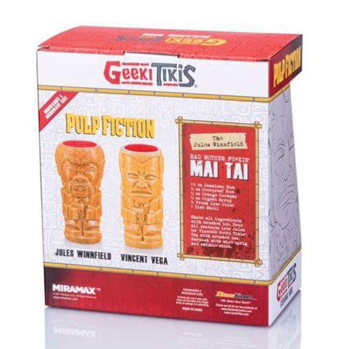 Pulp Fiction Geeki Tiki Mug 2-Pack Set