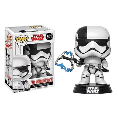 Star Wars: The Last Jedi First Order Executioner Pop! Vinyl Bobble Head #201