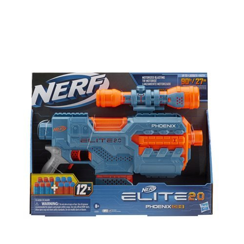 Nerf Elite 2.0 Star Phoenix CS-6 Blaster