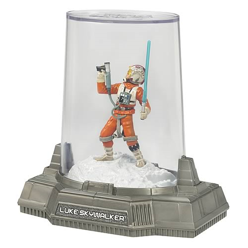 Star Wars Titanium Series Luke Skywalker Die-Cast Figure