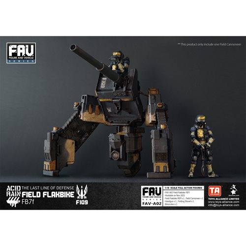 Acid Rain Field Flakbike FB7f Action Figure