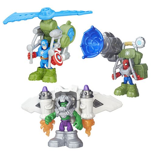 Marvel Super Hero Adventures Deluxe Mini-Figures Wave 1
