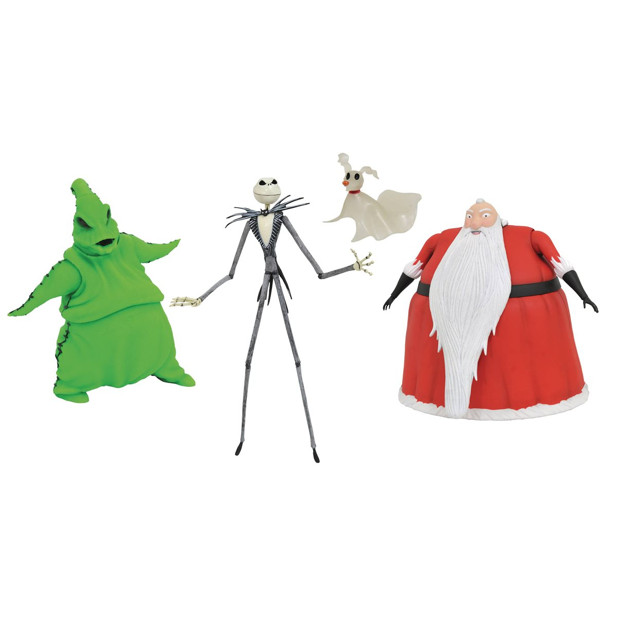 Christmas In San Diego 2020 Nightmare Before Christmas Lighted Action Figure Box Set   San