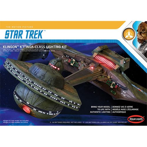Star Trek Klingon K't'inga Lighting 1:35 Model Kit