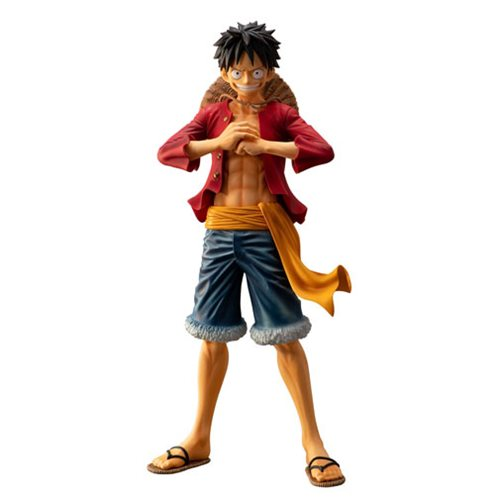 One Piece The Bonds Of Brothers Monkey D Luffy Ichiban Statue