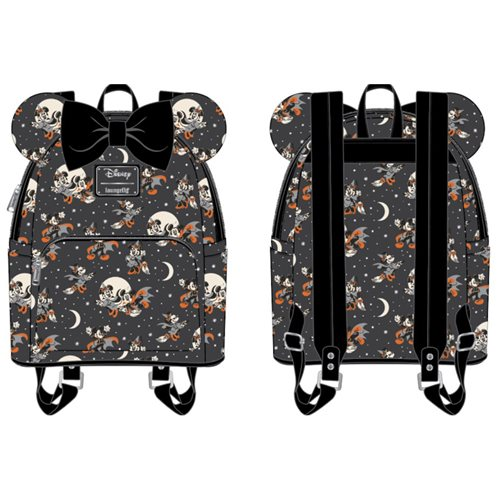 Disney Mickey and Minnie Halloween Mini-Backpack