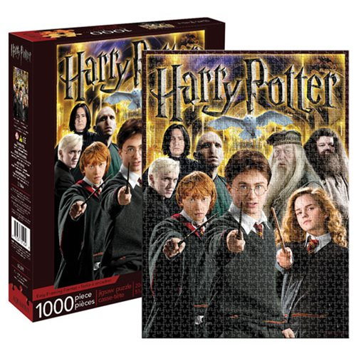 Harry Potter Collage 1000-Piece Puzzle
