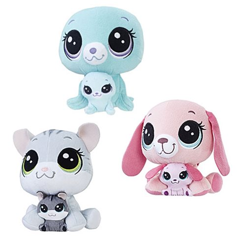 Littlest Pet Shop Plush Pairs Wave 1 Set