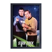 Star Trek: The Original Series Kirk and Spock Framed Art Print