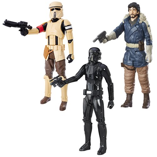 Star Wars Rogue One Hero Series 12-Inch Action Figures Wave 3 Case