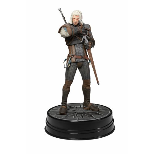 The Witcher 3 Wild Hunt: Deluxe Heart of Stone Geralt Figure