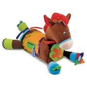 Melissa & Doug Giddy Up & Play Activity Plush Horse