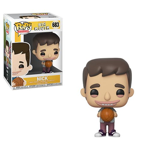 Big Mouth Nick Pop! Vinyl Figure #683, Not Mint