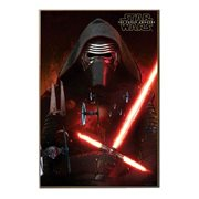 Star Wars: Episode VII - The Force Awakens Kylo Ren Space Wood Wall Art