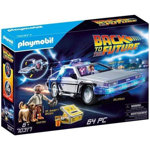 Playmobil 70317 Back to the Future DeLorean Time Machine