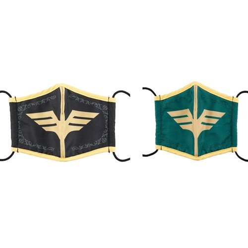 Mobile Suit Gundam Zabi Family Symbol 2-Pack Chara Face Mask