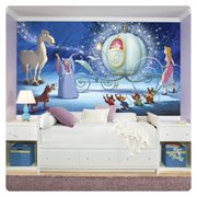 Cinderella Carriage XL Chair Rail Prepasted Mural