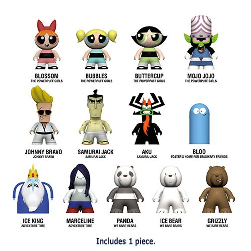 Cartoon Network The Townsville Titans Collection – 1 Random Mini-Figure