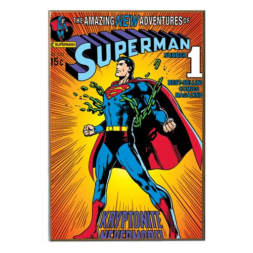 Superman Breaking Chains Wood Wall Art