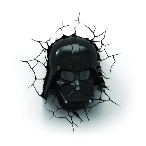 Star Wars Darth Vader Helmet 3D Nightlight