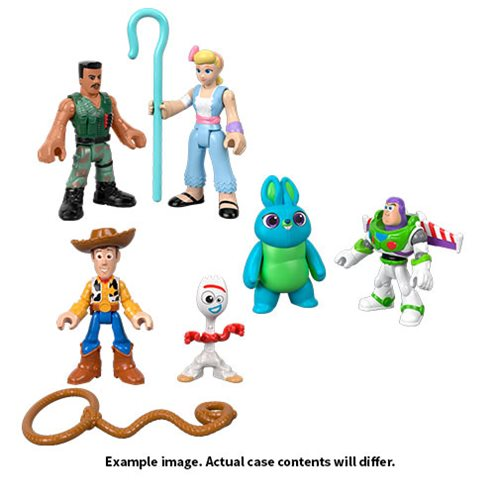 Toy Story 4 Imaginext Basic Mini-Figure Case