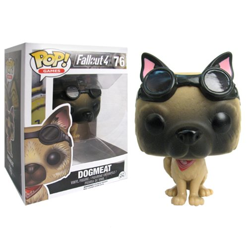 Fallout 4 Dogmeat Pop! Vinyl Figure, Not Mint
