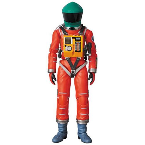 2001: A Space Odyssey Green and Orange Space Suit MAFEX Action Figure