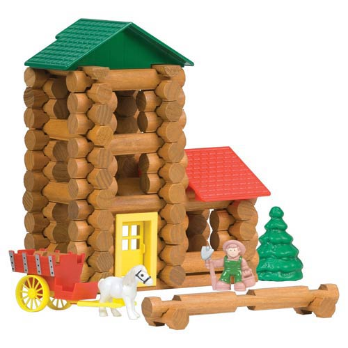 Lincoln Logs Shady Pine Homestead Building Set