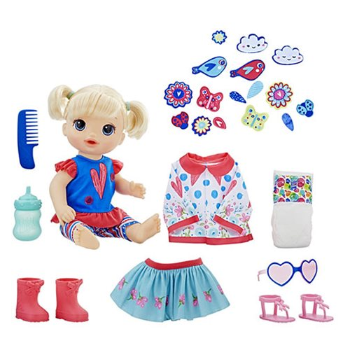 Baby Alive So Many Styles Baby Doll - Blonde Straight Hair
