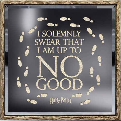 Harry Potter Solemnly Swear Lighted Sign