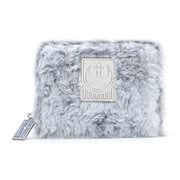 Star Wars The Empire Strikes Back 40th Anniversary Hoth Faux-Fur Zip-Around Wallet