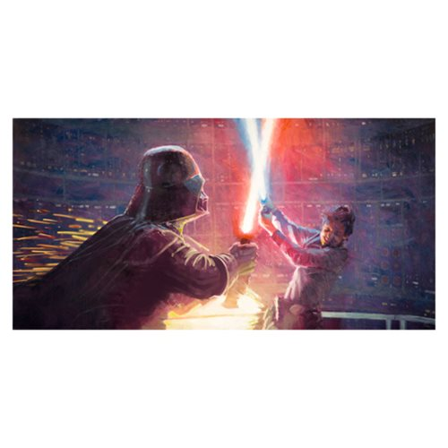 Star Wars Not a Jedi Yet by Christopher Clark Canvas Giclee Art Print