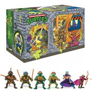 Teenage Mutant Ninja Turtles Sewer Lair Rotocast Action Figure 6-Pack - Previews Exclusive