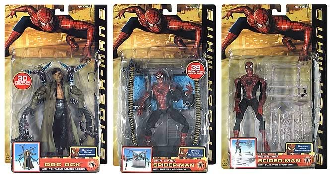 9d8f52bf6e08 Spider-Man 2 Movie Figures Series 3 - Entertainment Earth